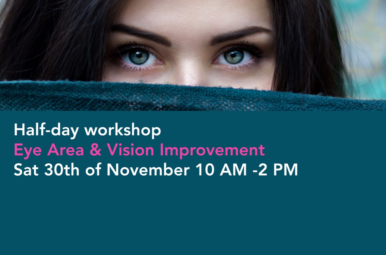 Eye Area & Vision Improvement workshop with Face Yoga Australia
