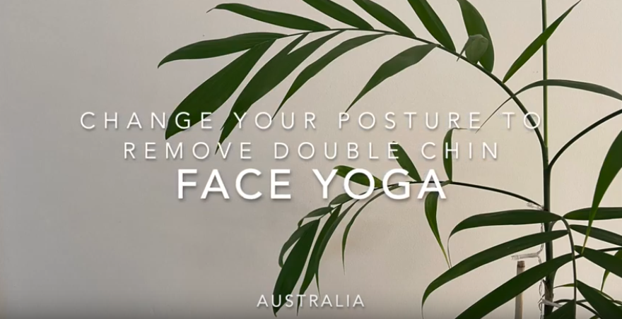 Can posture improve your double chin