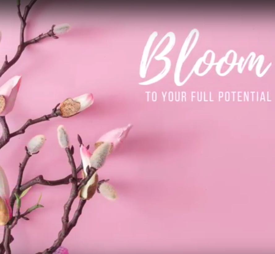 Bloom to your full potential affirmation video