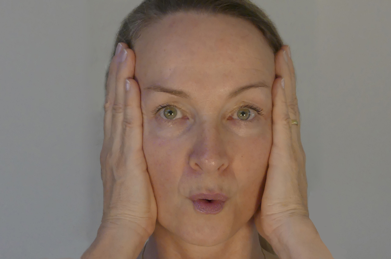 LIft your face naturally with face yoga