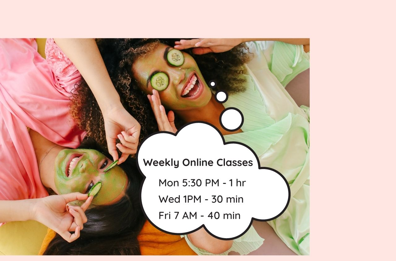 Weekly Face Yoga Online Classes